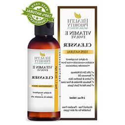 100% Natural Vitamin E Facial Cleanser. Best ever face wash