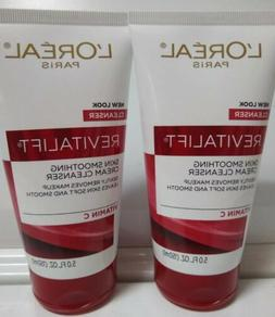 L'Oreal Paris Revitalift Skin Smoothing Facial Cream Cleans