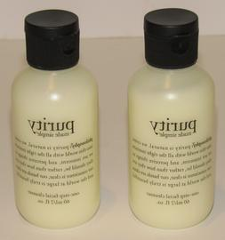 2 Philosophy Purity Made Simple One Step Facial Cleanser 4 O