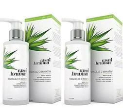 2x Lot Of InstaNatural Vitamin C Facial Cleanser Anti Aging
