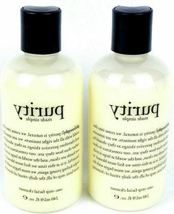 2X Philosophy PURITY Made Simple One-Step Facial Cleanser 8o