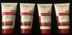 4 LOREAL REVITALIFT RADIANT SMOOTHING CREAM FACIAL CLEANSER