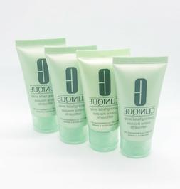 4 x Clinique Foaming Facial Soap Cleanser Very Dry to Combin