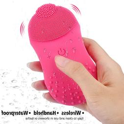 7800RPM Ultrasonic Vibration Electric Silicone Facial Cleans