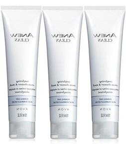 Avon Anew Clean Comforting Cream Cleanser and Mask Lot of 3