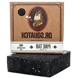 Dr. Squatch Pine Tar Soap – Mens Soap with Natural Woodsy