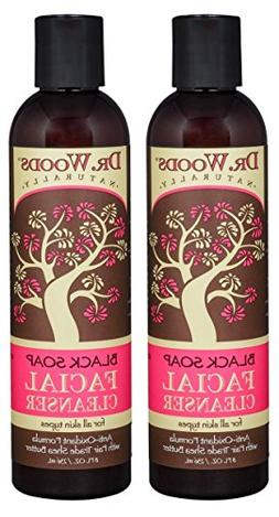 Dr. Wood's Black Soap Facial Cleanser with Shea Butter  With