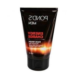 New! Pond's Men Energy Charge Facial Wash Recharges Skin 100