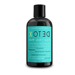 Safe House Naturals Detox Face and Body Wash, All Natural Sk