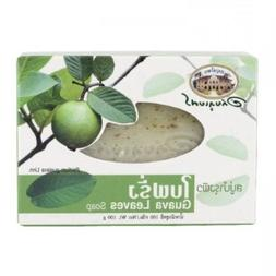 Abhaibhubejhr : Guava Leaves Soap Bar 3.52 Oz. Made in Thail