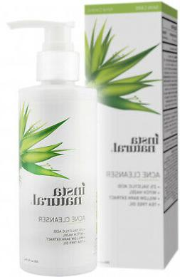 InstaNatural Acne Cleanser, Face Wash For Oily Skin With Sal
