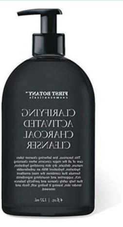 Activated Charcoal Cleanser Facial Wash w/DMAE Vegan Detoxif