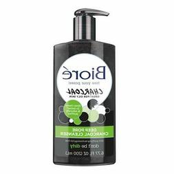Biore Deep Pore Charcoal Cleanser  Oily Skin Face Wash 6.77