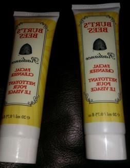 Burt's Bees Radiance Facial Cleaner w/Royal Jelly, Lot of 2