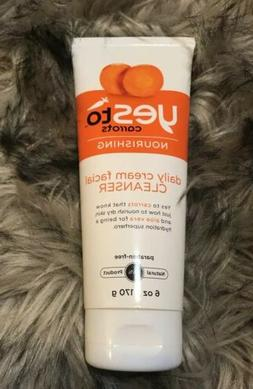 Yes to Carrots NOURISHING Daily Cream Facial CLEANSER Aloe V