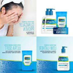 Cetaphil Daily Facial Cleanser For Normal To Oily Skin, Two