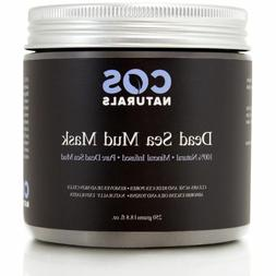 COS Naturals Dead Sea Mud Mask For Face and Body, 8.8 oz.
