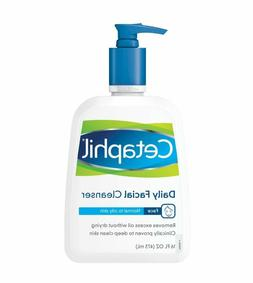 Cetaphil Daily Facial Cleanser, For Normal to Oily Skin, 16