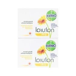 Dettol : Natural Soothing Soap 2.47 Oz.  Product of Thailand