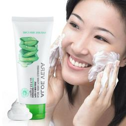 Face Washing Product Collagen Repair  Cleansing Foam Aloe Ve