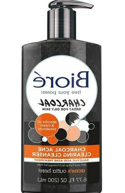 Facial Cleanser with 1% Salicylic Acid & Natural Charcoal Ac