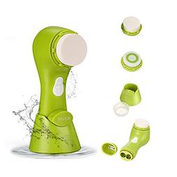 ACEVIVI Facial Cleansing Brush IPX5 Waterproof Facial Exfoli