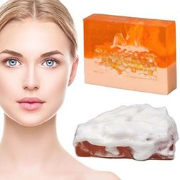 Honey Royal Jelly Face Wash Bar Soap for Oily Skin Dry Skin