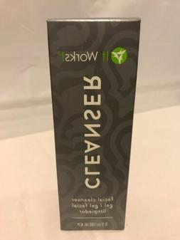 It  Works! CLEANSER Facial Cleanser Gel 6 fl. Oz / 180 mL- B