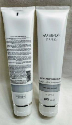 2 Mexico CLEAN Purifying Gel Cleanser 5.3oz ea.