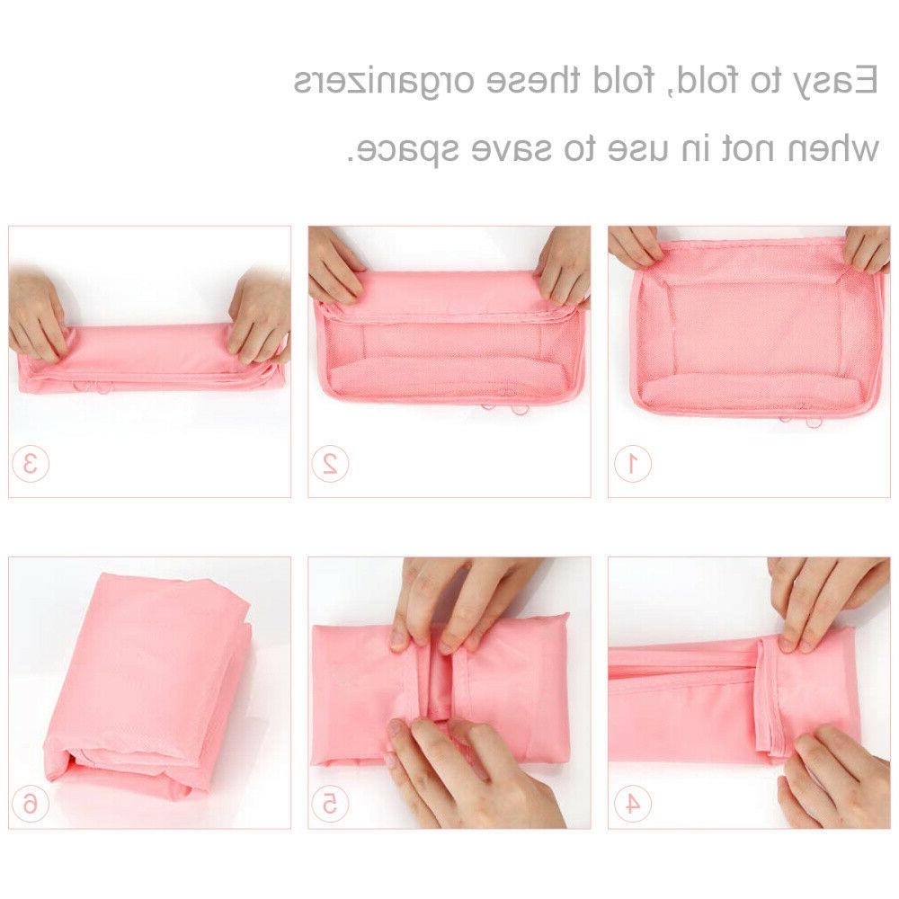 7PCS Bags Luggage Packing Underwear Clothes
