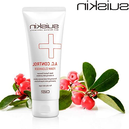 A.C. ACNE CONTROL FOAM CLEANSER  Foaming Face Purifying Wash