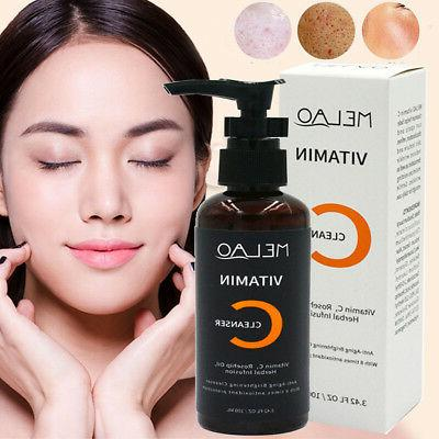 Herbal Vitamin C Daily Facial Cleanser Face Wash Cleansing A