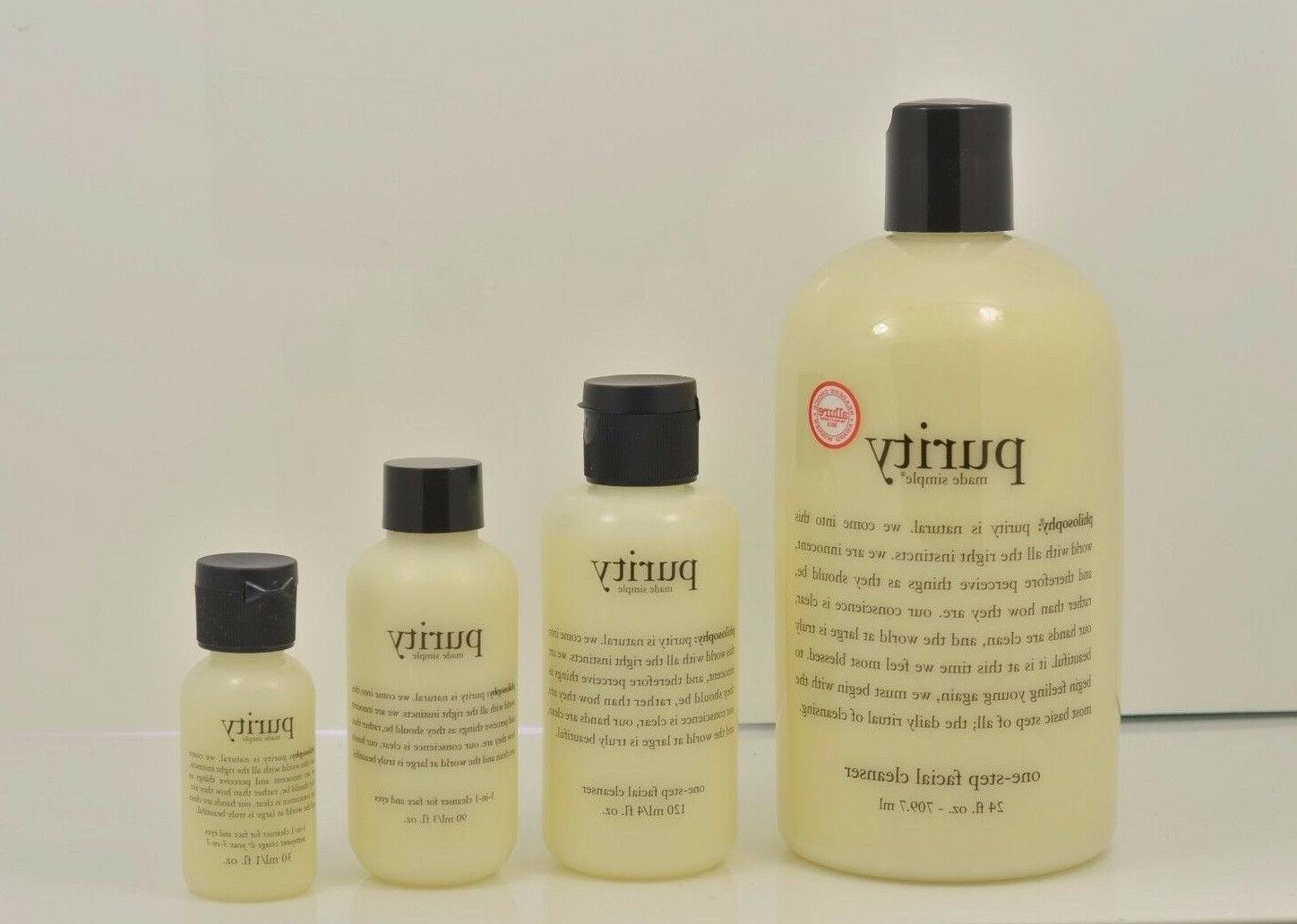 Philosophy Purity Made Simple One Step Facial Cleanser New S