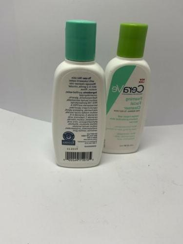 CERA CLEANSER FOR NORMAL OILY SKIN 3 FL OZ Pack