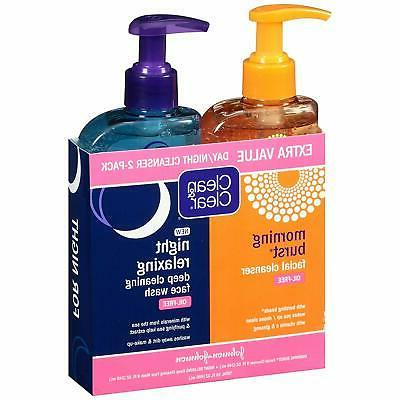 Clean Clear 2-Pack Day Cleanser Morning Burst Facial