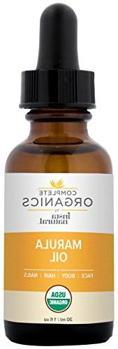 Organic Marula 100% Non GMO, and Balancing for Body, & Skin - Complete by InstaNatural - oz