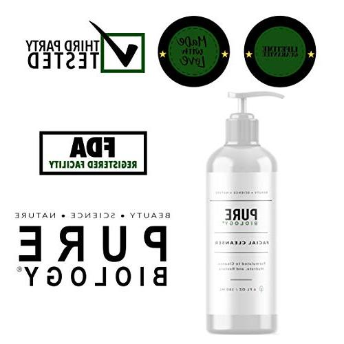 Premium Cleanser Hyaluronic Acid, Essential Oils & Anti Complex - Face Skin for Acne Breakouts, for Women, All Types