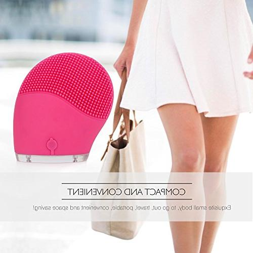 HailiCare Massager Electric Sonic Face Cleanser Brush