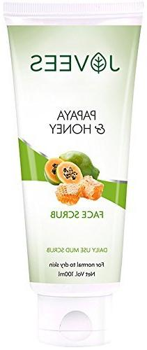 Jovees Facial Scrub - Papaya & Honey 100 g by Jovees