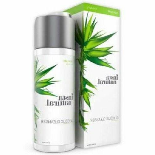 insta natural glycolic facial cleanser anti aging