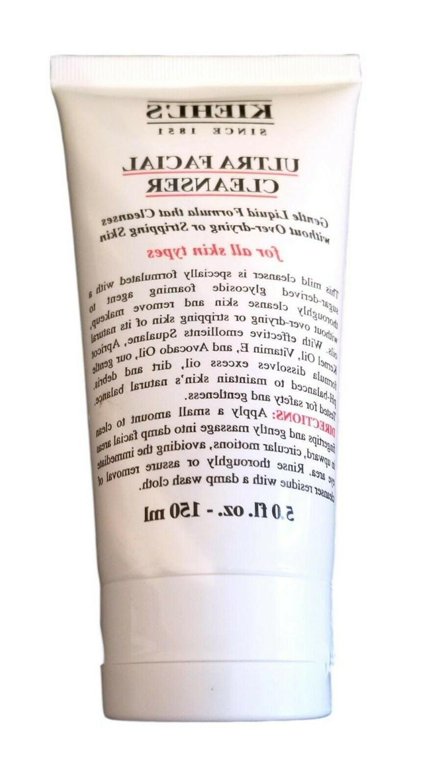 Kiehl's Ultra Facial Cleanser ~ All Skin Types ~ 5.0 oz  / 1