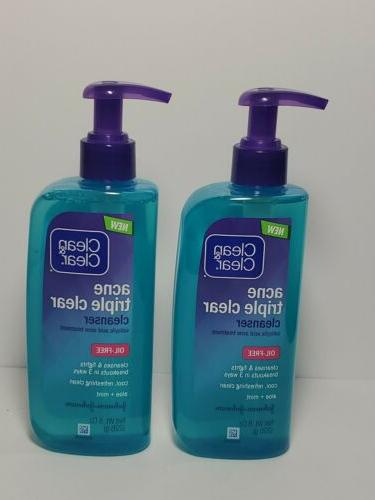 lot of 2 clean and clear acne