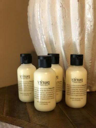 new sealed purity facial cleanser face wash