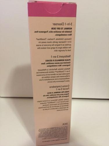 NIB Kay Timewise - 3-in-1 Cleanser normal/dry - 4.5 oz.