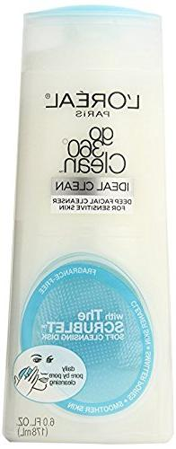L'Oréal Paris Go 360° Clean Cleanser Sensitive Skin, 6 fl.