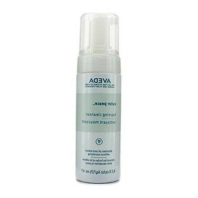 outer peace foaming cleanser 125ml 4 2oz