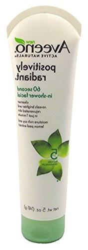 Aveeno Positively Radiant 60-SeConditioner In Shower Facial