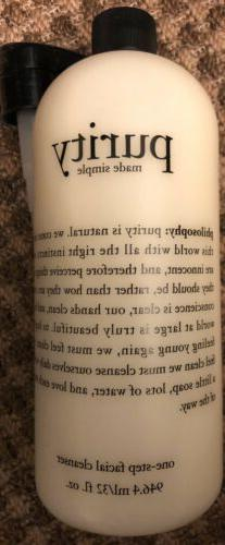 Philosophy Purity Made Simple One Step Facial Cleanser 32oz