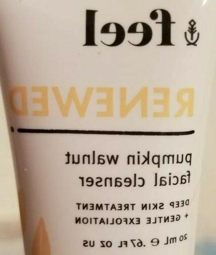 feel RENEWED Pumpkin Facial sample size SEALED