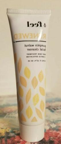 renewed pumpkin walnut facial cleanser 67oz 20ml